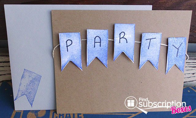 Doodle Crate Stamp Carving and Printmaking Crate Box Review - Card