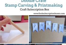 Doodle Crate Stamp Carving and Printmaking Crate Box Review