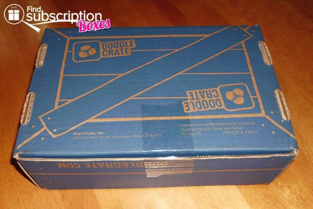 Doodle Crate Stampcarving and Printmaking Crate Box Review - Box