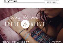 FabFitFun VIP Box Fall 2015 Box Spoiler - Tribe Alive Bracelet