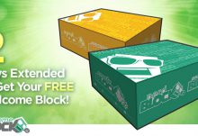 Free Nerd Block Welcome Block