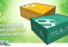Free Nerd Block Welcome Block