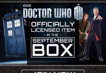 Geek Fuel September 2015 Box Spoiler - Doctor Who