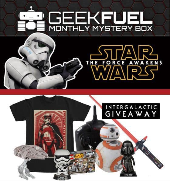 Geek Fuel The Force Awakens Giveaway