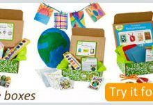 Free Green Kid Crafts Discovery Boxes