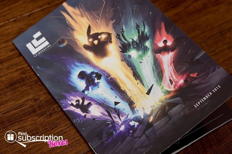 Loot Crate September 2015 Mini Magazine