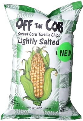 Sweet Corn Tortilla Chips by Off the Cobb