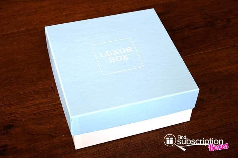 Luxor Box September Box Review - Box