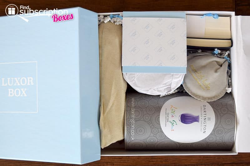 Luxor Box September Box Review - First Look
