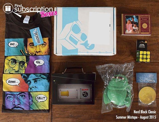 nerd-block-august-2015-summer-mixtape-box-review-box-contents