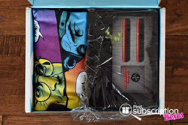 Nerd Block August 2015 Summer Mixtape Box Review - First Look