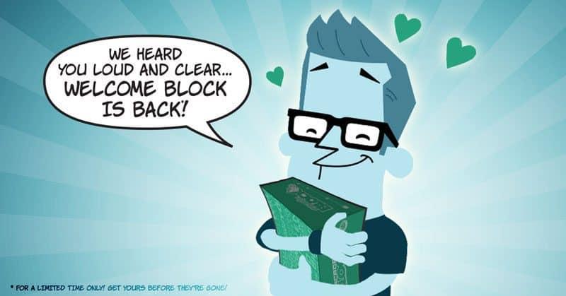 Nerd Block Free Welcome Block