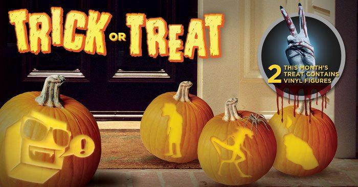 Nerd Block Classic October 2015 Box Theme - Trick or Treat