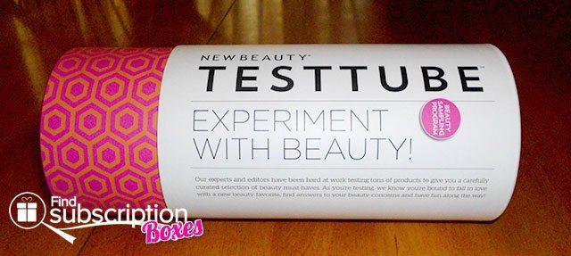 NewBeauty TestTube September Box Review - Tube