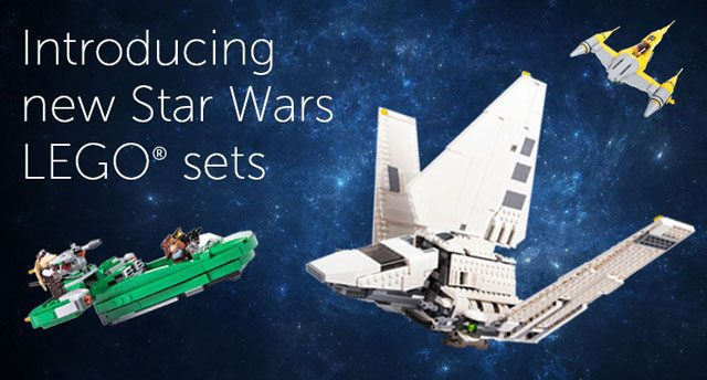Pley Star Wars LEGO Sets