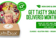 UrthBox $5 Off Coupon