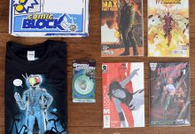 Comic Block September 2015 Box Review - Box Contents