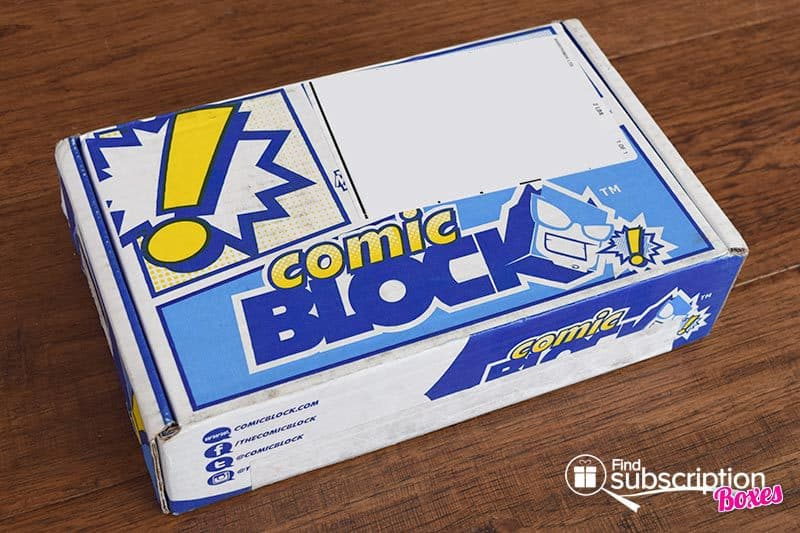 Comic Block September 2015 Box Review - Box