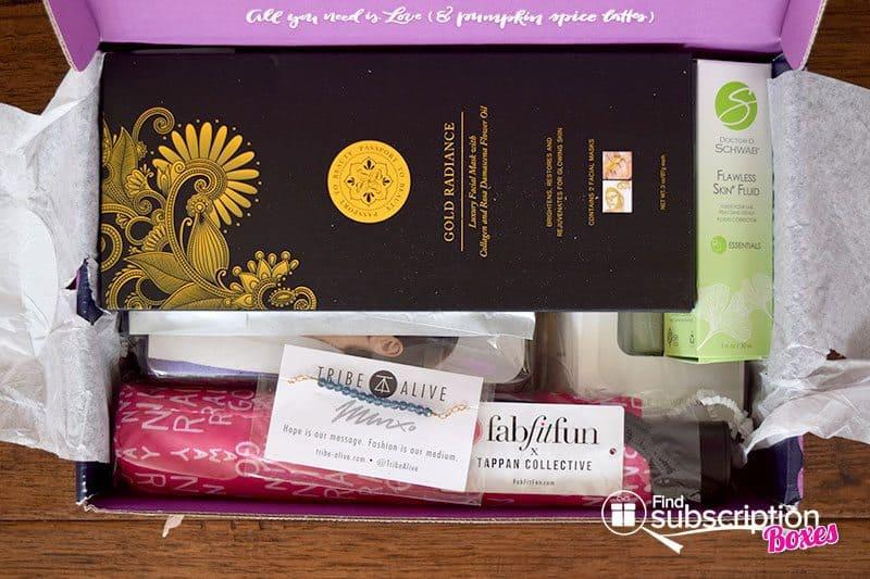 FabFitFun Fall 2015 VIP Box - First Look