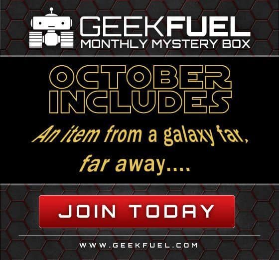 Geek Fuel October 2015 Box Spoiler - Star Wars