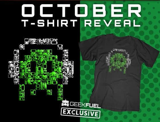Geek Fuel October 2015 Box Spoiler T-Shirt
