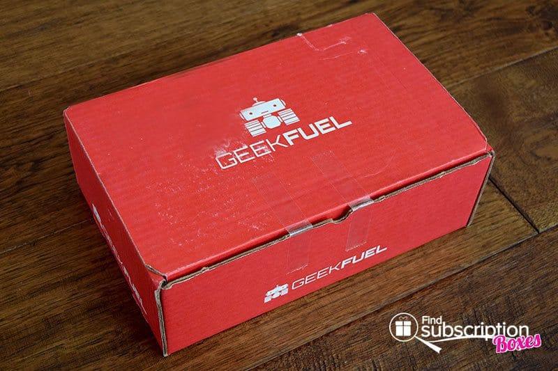 Geek Fuel Review - October 2015 Box