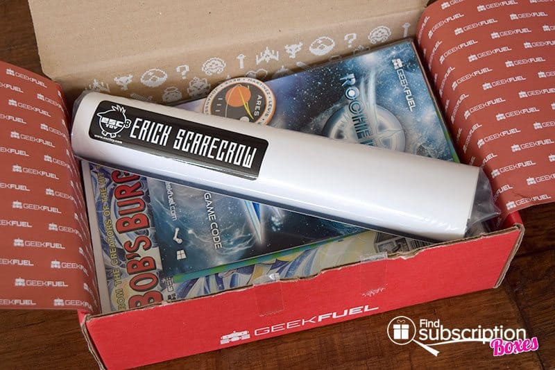 Geek Fuel September 2015 Box Review - First Look