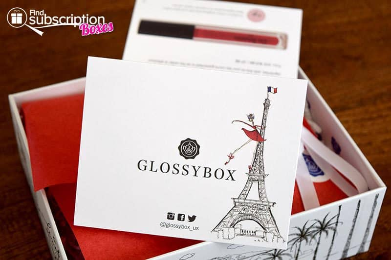 GLOSSYBOX October 2015 Box Review - Product Card