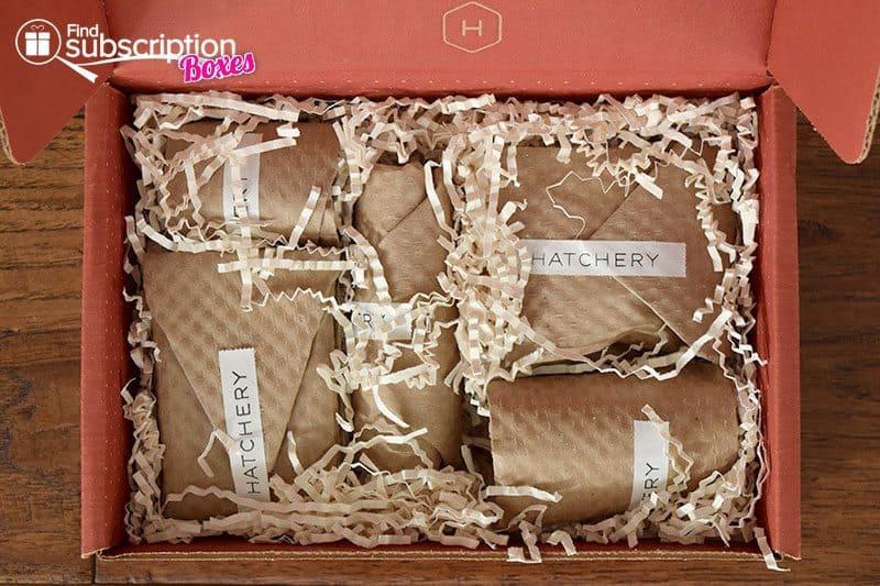 Hatchery September 2015 Tasting Box - First Look
