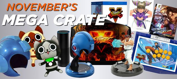 Loot Crate November 2015 Mega Crate