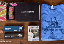 Loot Crate October 2015 Box Review - Box Contents