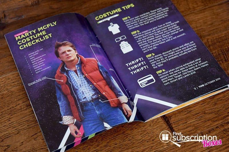 Loot Crate October 2015 Box Review - Mini Magazine