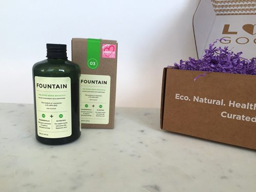 LOVE GOODLY October/November Box Spoiler Fountain Beauty+Wellness