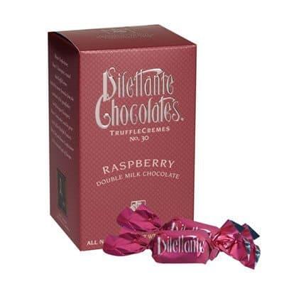 Love With Food November 2015 Box Spoiler - Dilettante Raspberry Truffles