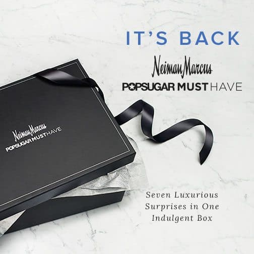 Neiman Marcus 2015 POPSUGAR Must Have Box