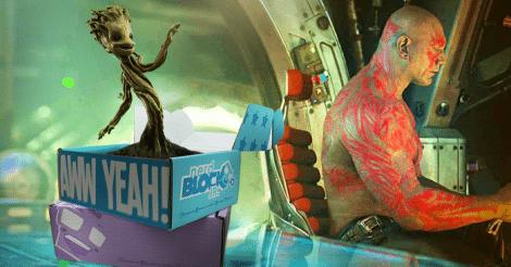Nerd Block Jr. October 2015 Box Spoiler - Guardians of the Galaxy