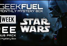 Geek Fuel Black Friday Free Star Wars Bonus Pack