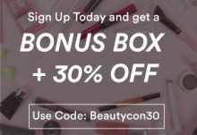 Beautycon Black Friday - Bonus Box + 30% Off