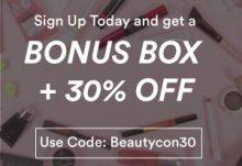 Beautycon Black Friday - Bonus Box + 30% Off