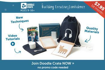 Black Friday Doodle Crate