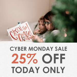 Bookroo Cyber Monday Sale - Save 25% Off