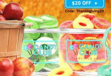 Candy Club $20 Off