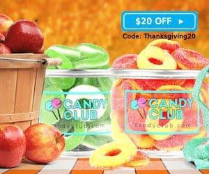 Candy Club $20 Off