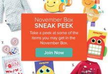 Citrus Lane November 2015 Box Spoilers