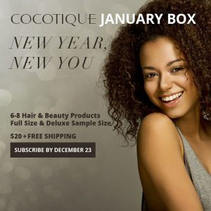 COCOTIQUE January 2015 Theme - New Year, New You