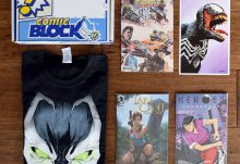 Comic Block Review - October 2015 Box Contents