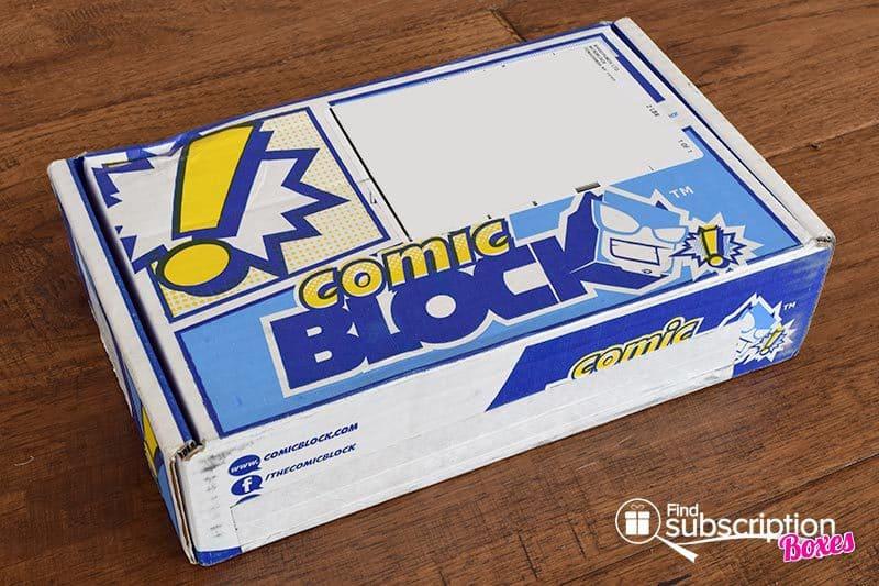 Comic Block Review - October 2015 Box