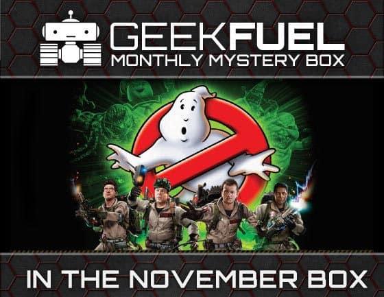 Geek Fuel November 2015 Box Spoiler - Ghostbusters