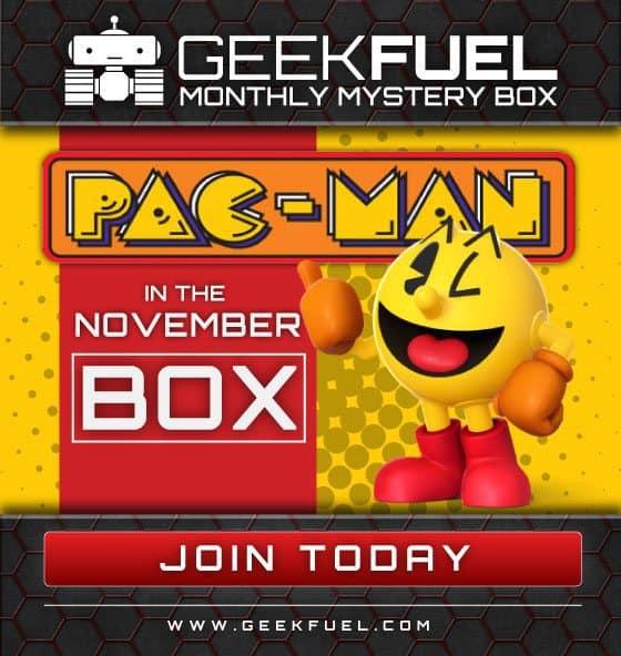 Geek Fuel November 2015 Box Spoiler - PacMan