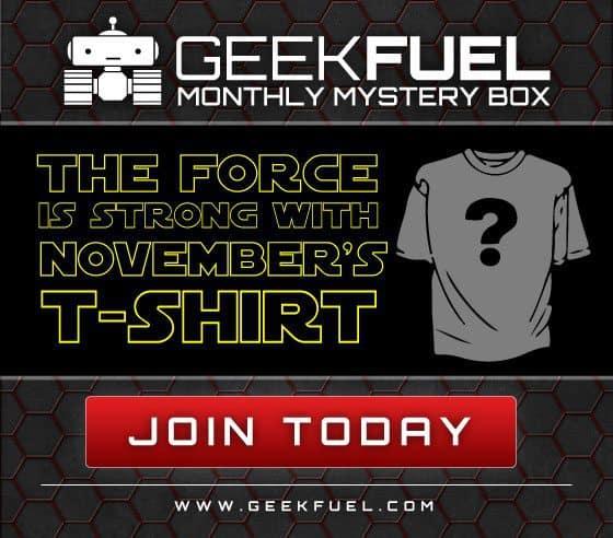 Geek Fuel November 2015 Box Spoiler - Star Wars T-Shirt